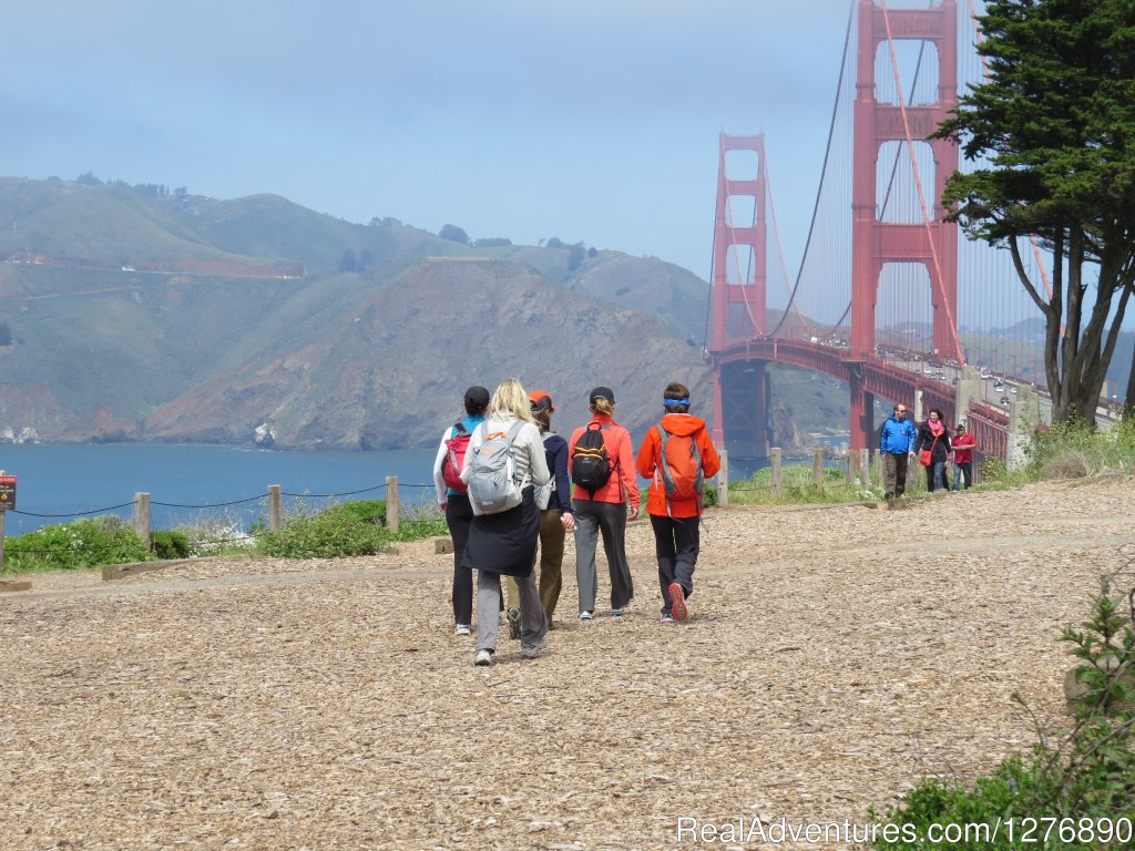 Day 5, almost to the bridge | Image #11/17 | Inn to Inn Hiking to San Francisco