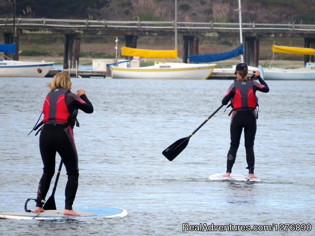 Stand Up Paddling in Princeton by the Sea (#8 of 17) - Inn to Inn Hiking to San Francisco
