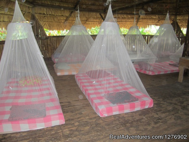 Your sleeping arrangements - Deeper Costa Rica: An Eco-Trek Adventure
