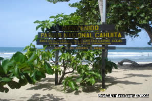 Entrance to Cahuita National Park - Deeper Costa Rica: An Eco-Trek Adventure