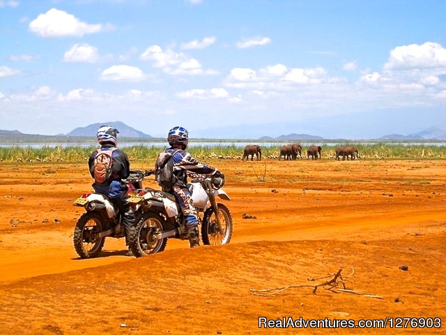 Image #2 of 22 - Motorbike Safaris