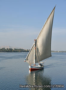 Romantic Felucca in the river nile - Amazing Tours with Egypt direct Tours