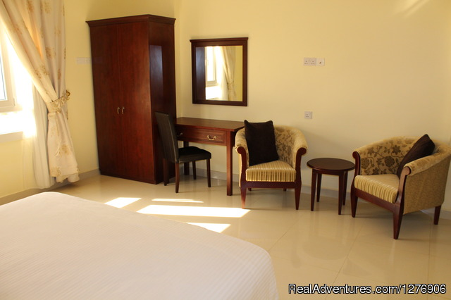 Deluxe Two Bedroom Apartment Master King-size Bedroom - Nizwa Hotel Apartments