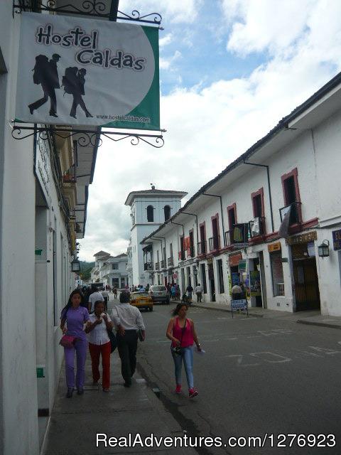 Hostel Caldas Street View