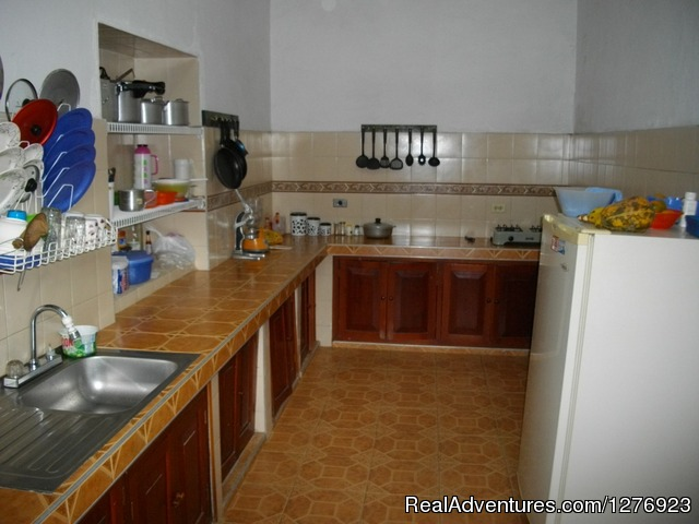 Kitchen - Hostel Caldas