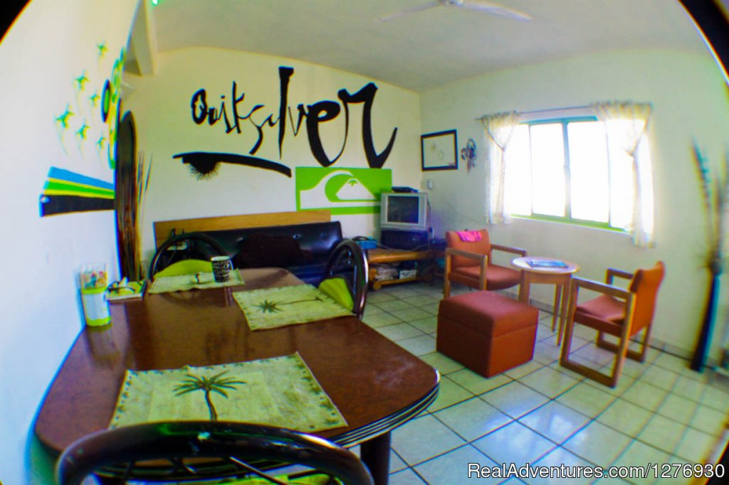 Inexpensive staying for surfers and travelers.