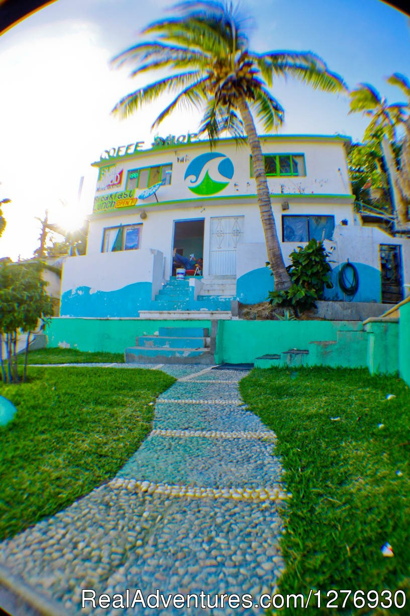 Front view | Image #3/8 | Surf Hostel Cabo