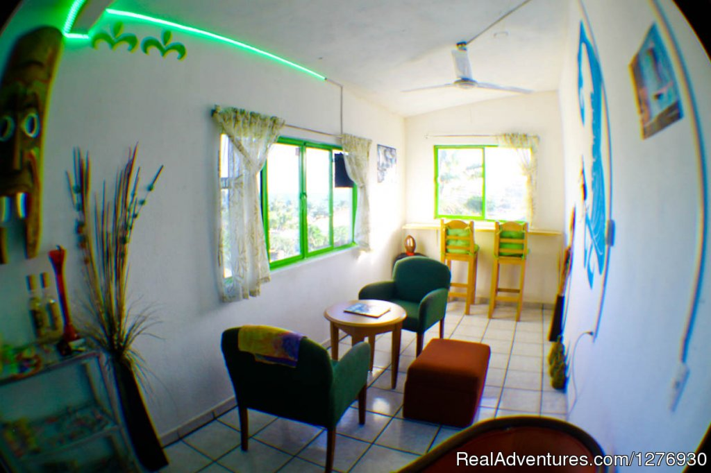 Chill out area | Image #7/8 | Surf Hostel Cabo