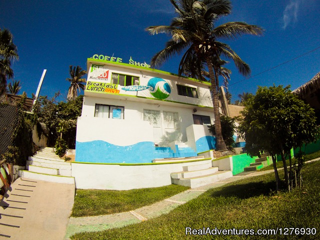 Front View - Surf Hostel Cabo