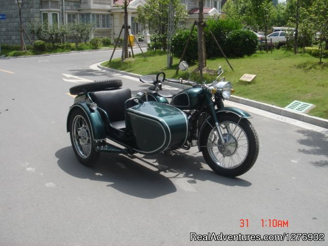 Vintage Sidecar Motorcycle Tour China: Vintage Sidecar