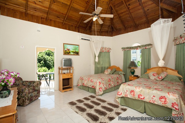 Villa Double Bedroom 1 - Luxury Jamaica Villa