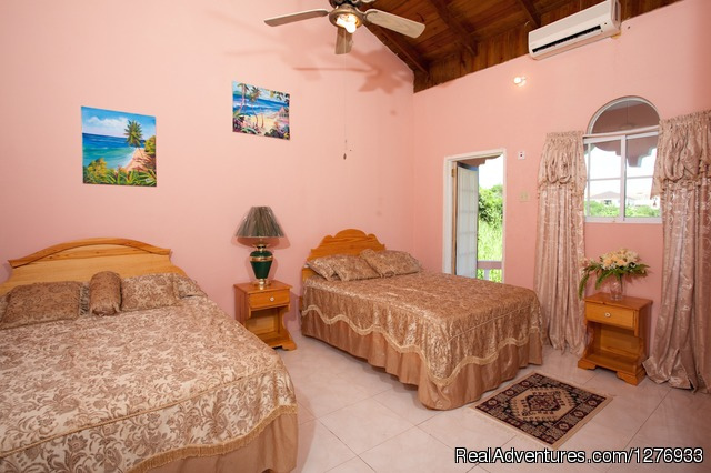 Villa Double Bedroom 2 - Luxury Jamaica Villa