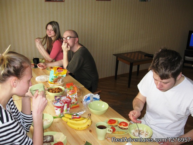 Indie Hostel Yekaterinburg: Guests