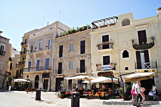 UNESCO sites in Apulia region (southern Italy)
