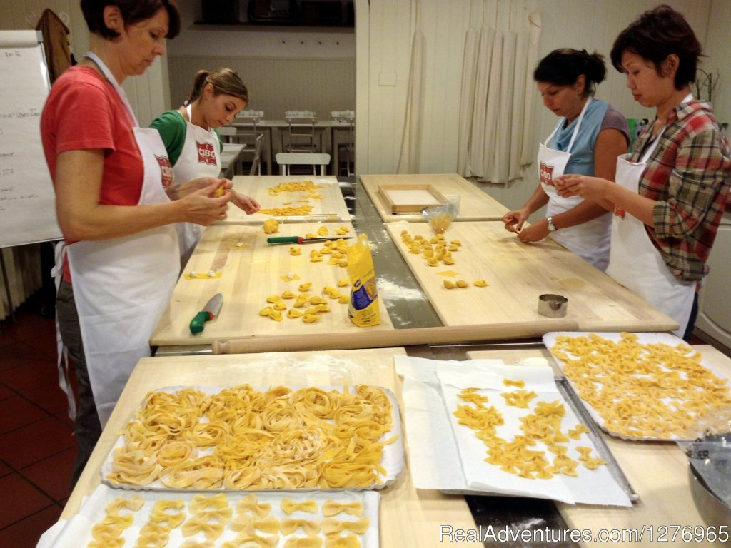 Pasta Creations | Image #1/8 | Bologna, Italy | Cooking Schools | Hands-On Cooking Classes In Bologna, Italy