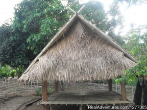 Authentic hill tribe living on a private campsite Chiengrai, Thailand Campgrounds & RV Parks