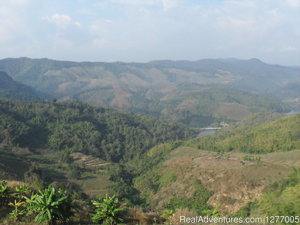 View of the surrounding area | Image #5/8 | Authentic hill tribe living on a private campsite