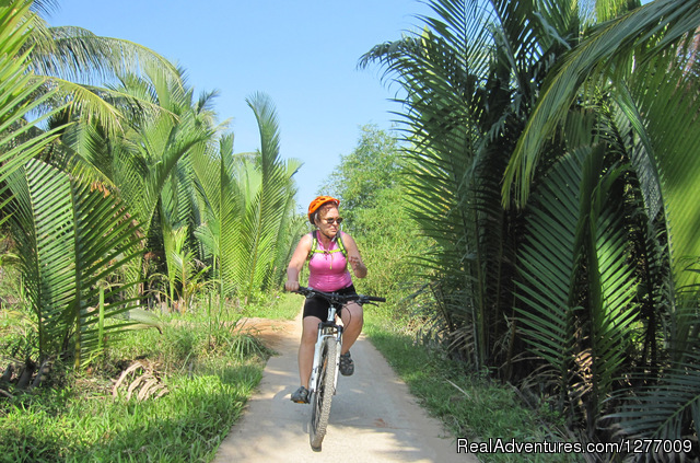 Mekong Delta: Full-Day Floating Market & Bike Tour