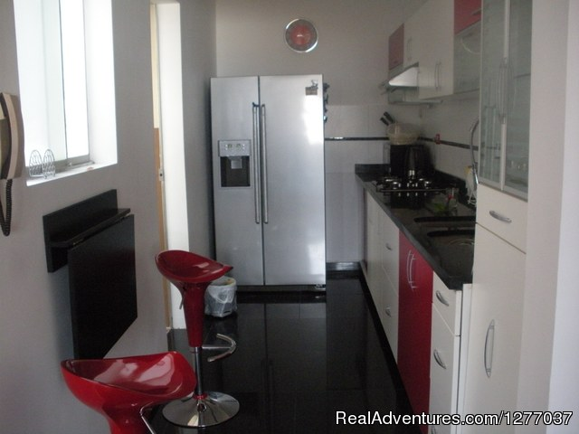 Furnished Apartment For Rent Lima Peru: Kitchen