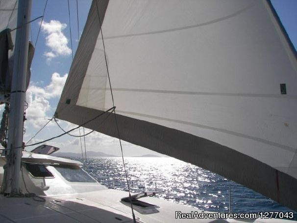 Image #6 of 8 - Private Sail Boat Charters Puerto Rico