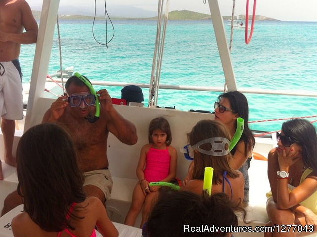 Kid friendly - Private Sail Boat Charters Puerto Rico