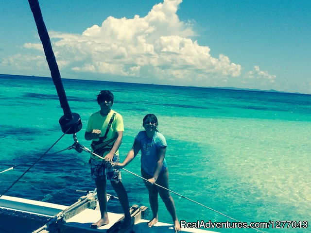 Time off - Private Sail Boat Charters Puerto Rico