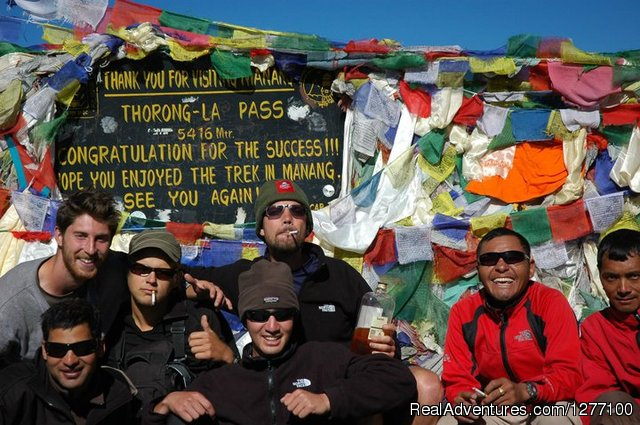 Annapurna Family Trekking: Cross 5416m Thorong