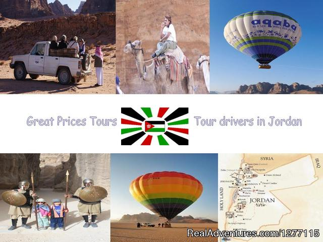 Great Jordan Prices Tours & Tour drivers in Jordan