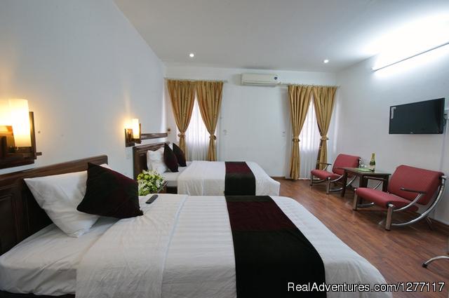 Hanoi White Palace Hotel Family room at HANOI WHITE PALACE HOTEL