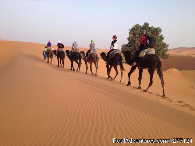 Tours Via Morocco Camel-Trekking in Merzouga