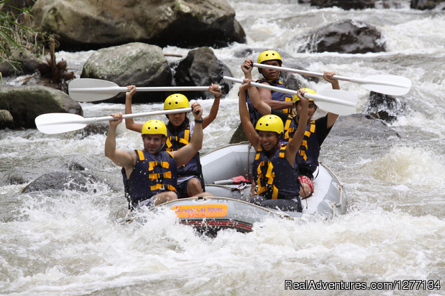 White Water Rafting at Ayung River, Ubud, Bali