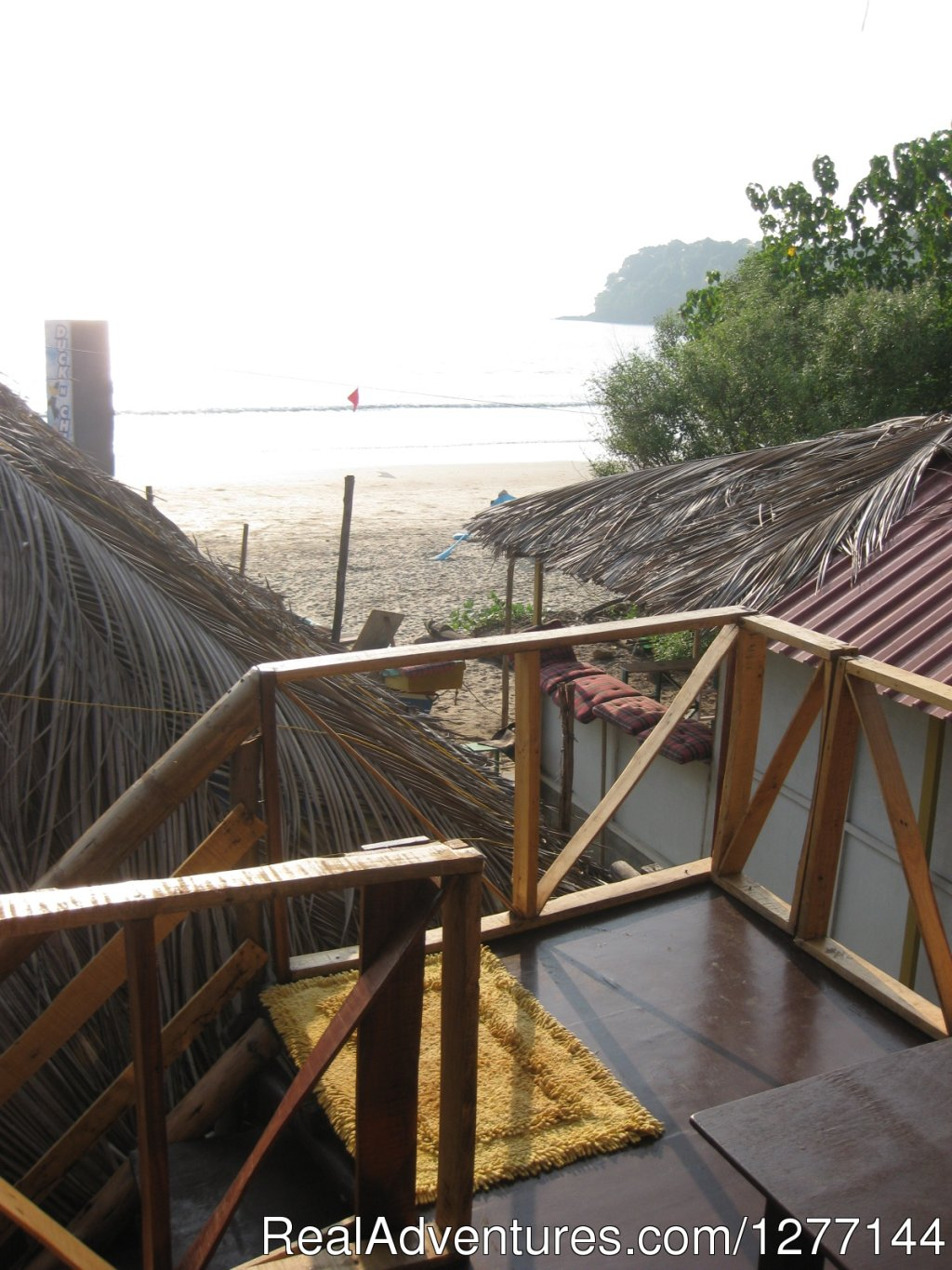View from Sea view hut | Image #6/10 | DucknChill-Agonda, Huts, Bar and Restaurant