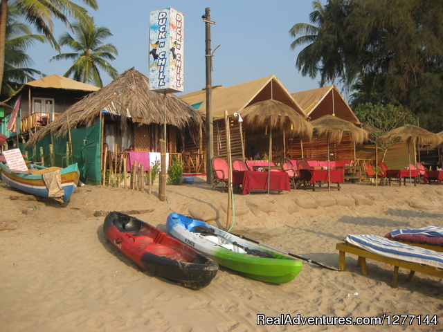 DucknChill-Agonda, Huts, Bar and Restaurant