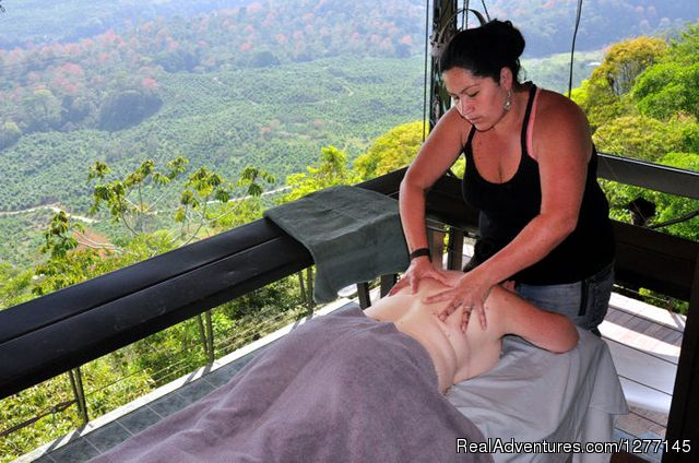 Massage on your deck - Volare-In the heart of adventure in Costa Rica