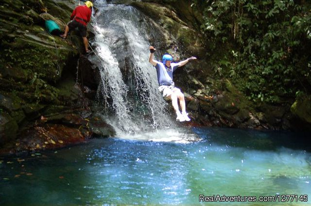 Adventure Canyoning - Volare-In the heart of adventure in Costa Rica