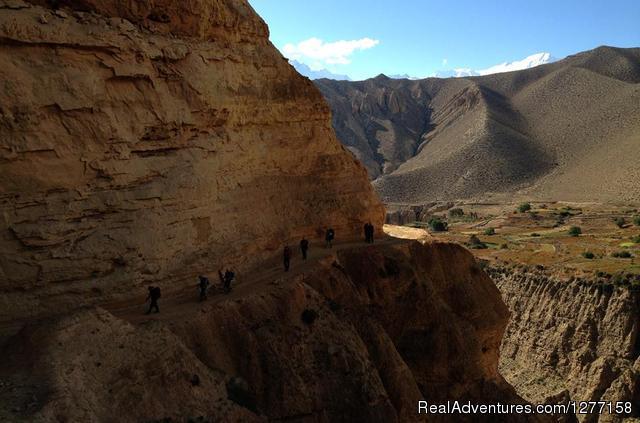 Trekking In Nepal Himalays The Hidden Valley Mustang in Nepal