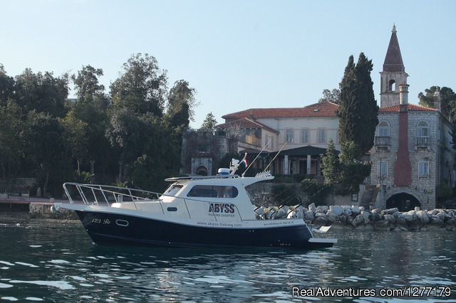 Boat for Tunas Fishing - Fishing adventure in Croatia