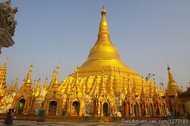 Myanmar Off The Beaten Track Adventure: Shwedagon pagoda - Yangon