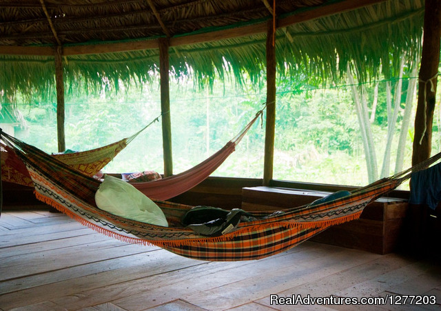 Hammock insect proof house - Tapiche Reserve Authentic Jungle Experience