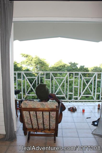 Large balconies - Hot Box Jamaica - a 420 traveller's joint