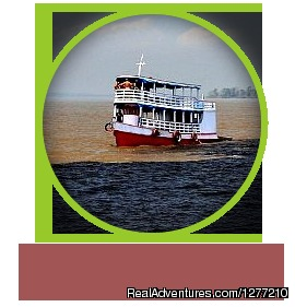 Adventure and explore in a cruise in the Amazon: Boat Tour