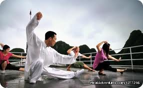 Tai Chi in junk - Vietnam Holiday package trip on your request