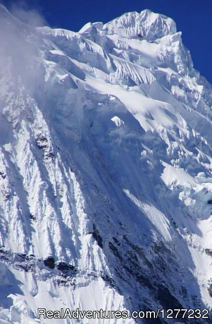 Peruvian Hiking High Summit Peru Climbing & Treks: Chacraraju Mountain -  Cordillera Blanca