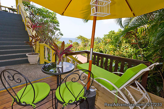 Artist Studio Private Sea View Deck - Self Catering Villa and Apartments Rental