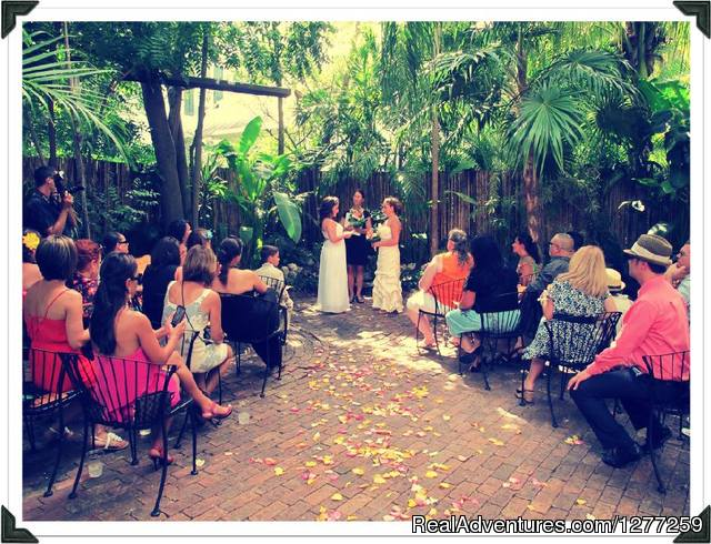 Old Town Manor Key West Ceremony Venue - Old Town Manor Weddings