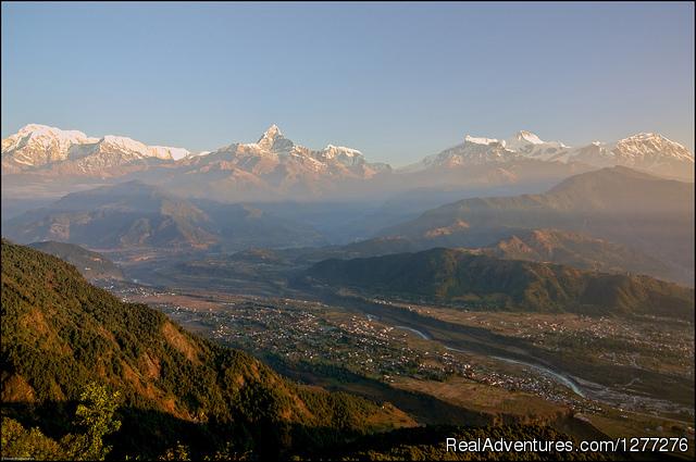 Scenic Pokhara Sightseeing Tour with Well Nepal. Sunrise From Sarangkot Hill, Pokhara