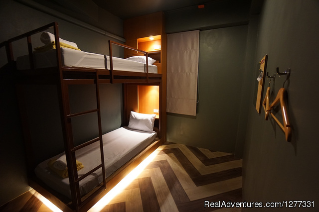 Twin Room - Loftel 22-Boutique hostel in China town-Hualampong