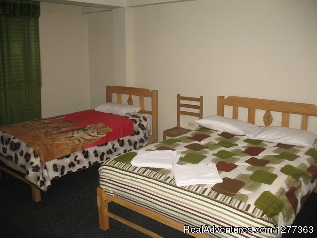 City Centre Hostel Huaraz: Familiar Room