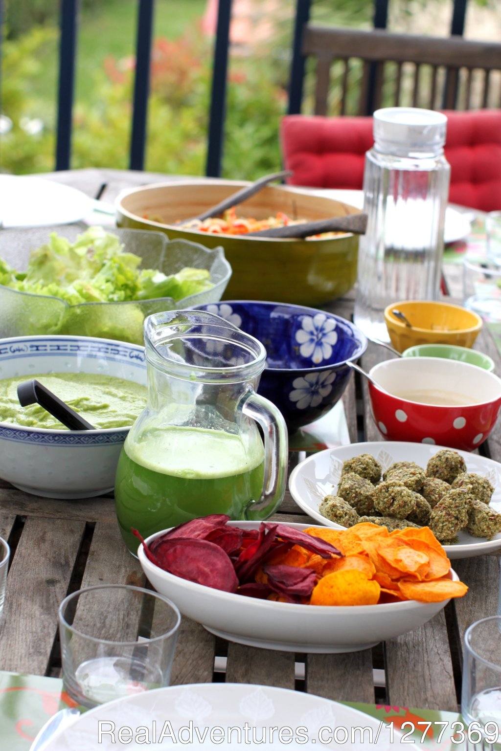 Raw gourmet meal | Image #10/17 | Yoga, Gourmet Raw food/chocolate South of France