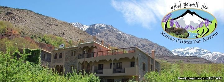 Dar Assarou Guest House, is a Characterful prfoperty with amazing views on the High Atlas mountains.